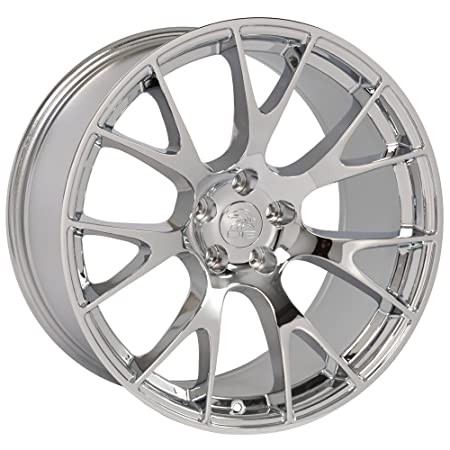 amazon oe wheels 20 inch fits dodge challenger charger srt8 2008 Dodge Charger SRT8 amazon oe wheels 20 inch fits dodge challenger charger srt8 magnum chrysler 300 srt8 dg15 hellcat style chrome 20x10 rim hollander 2528 automotive