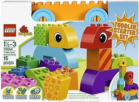 LEGO Duplo 10554 - Bloques y Base con Ruedas para Bebés: Amazon.es: Juguetes y juegos