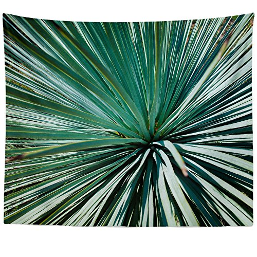 Westlake Art - Green Wallpaper - Wall Hanging Tapestry - Picture Photography Artwork Home Decor Living Room - 68x80 Inch - Flora Saw Palmetto