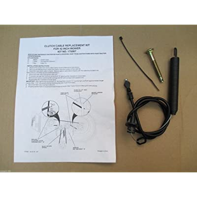 """POULAN / SEARS 42"""" MOWER DECK CLUTCH ENGAGMENT CABLE 532169676, 169676, 175067, product_by: robert-99, #UGEIO35121609418383 : Garden & Outdoor"""