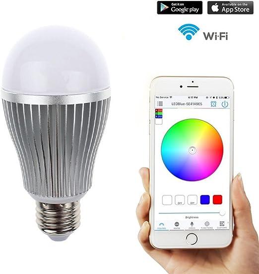 Smart – Bombilla LED Smartphone Controlado Regulable multicolor ...