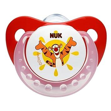 Amazon.com: NUK Disney Winnie The Pooh silicona Chupete con ...
