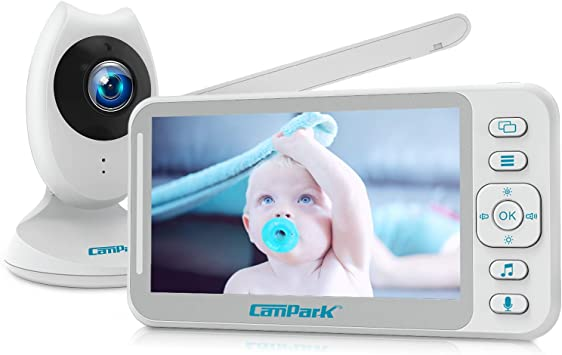 Campark Wireless 2.4GHz Digital LCD Baby Monitor Camera Night Vision Audio Video