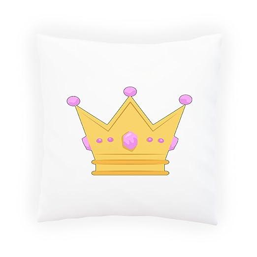 INNOGLEN Corona Hermosa Reina Almohada Decorativa, Funda de ...