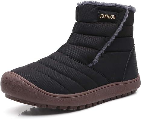 Men's Women's Outdoor Snow Boots Faux