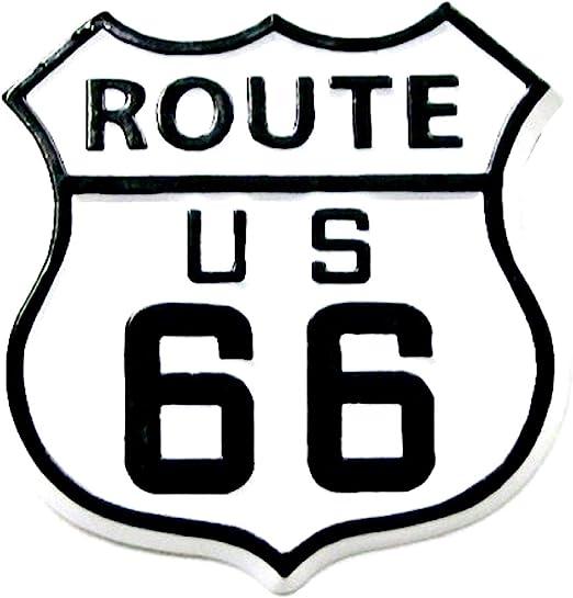 Amazon.com: Señal de carretera de la ruta 66 imán de nevera ...