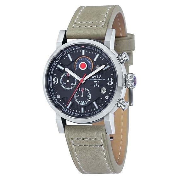 Reloj - AVI-8 - Para Unisex - Hawker Hurricane - AV-4041-02: Amazon.es: Relojes