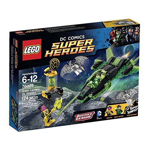 Super Heroes Brick Box Building LEGO 174 PCS Green Lantern vs. Sinestro Toys (Lego Green Lantern Figure compare prices)