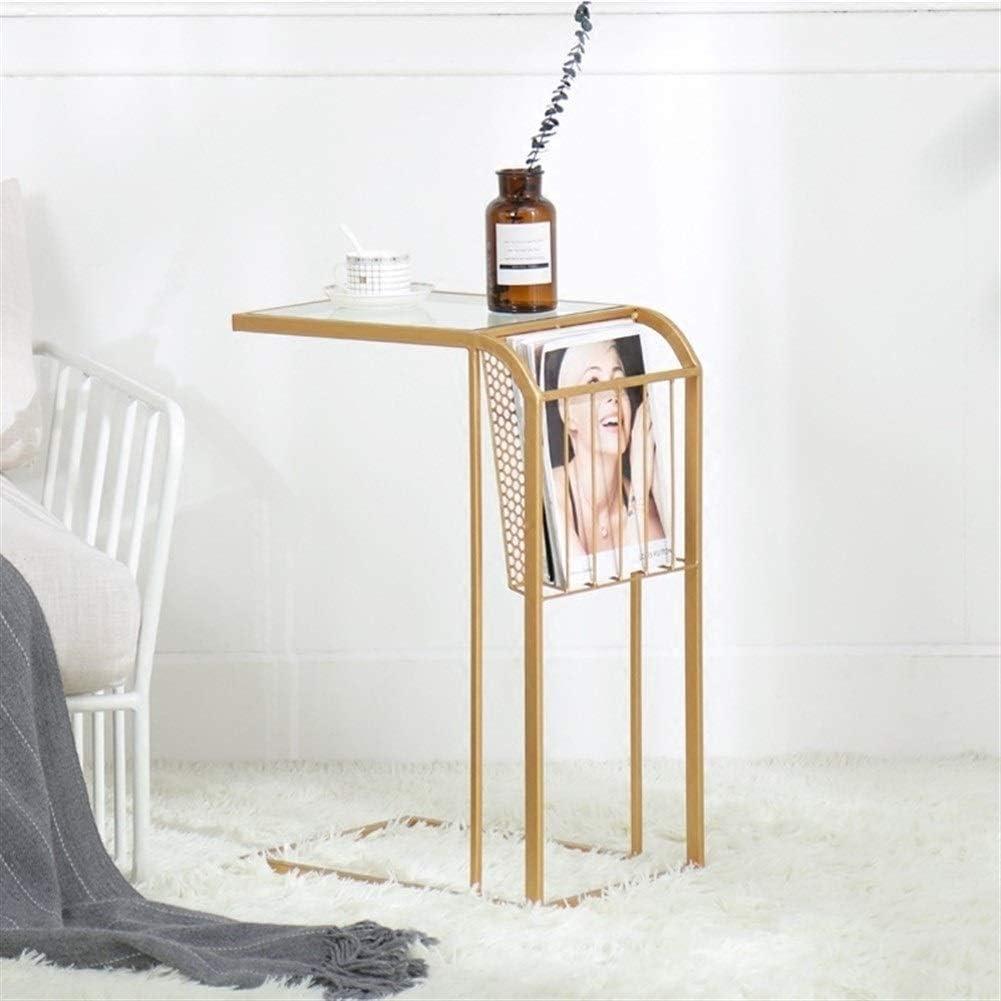 Beste Prijs Moderne bijzettafel, draagbare multifunctioneel thuis kantoor hotelslaapkamer woonkamer salontafel, personity nacht corner bijzettafel Gouden Rvc1m4M