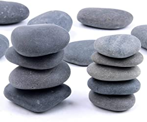 RM 3Kg Pack of River Beach Pebbles 3-5 inches, Decor, Garden, Landscape