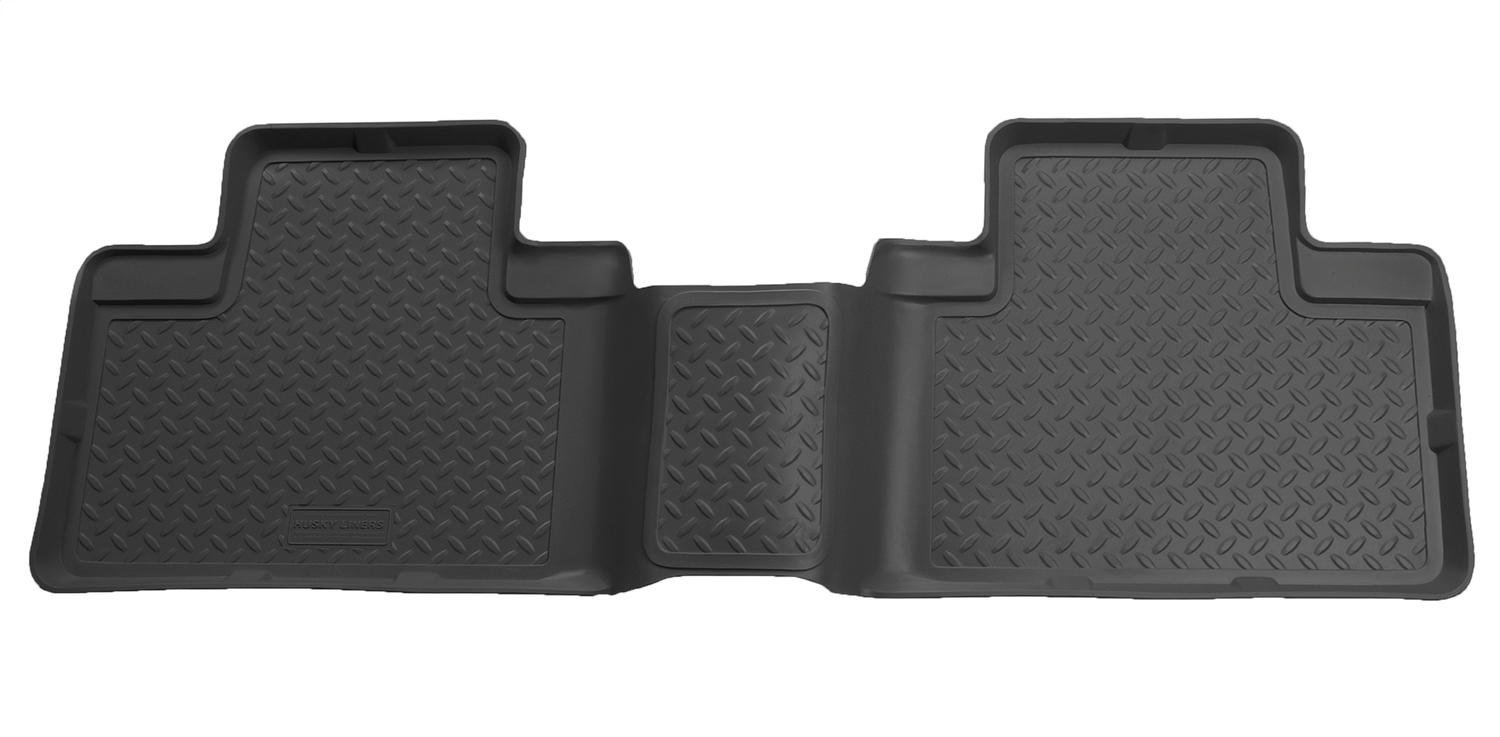 Husky Liners 2nd Seat Floor Liner Fits 09-14 F150 SuperCab w//o Manual Case
