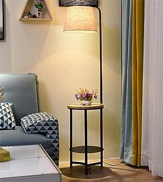 CASEY-L Lámpara de pie, Mesita de Noche Minimalista Moderna Sala de Estar Lámparas de Esquina Sofá de Esquina Iluminación Vertical Decoración de Interiores Warm Light: Amazon.es: Deportes y aire libre