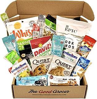 Amazon Com Low Carb Keto Snacks Box Low Sugar High Fat Ketogenic