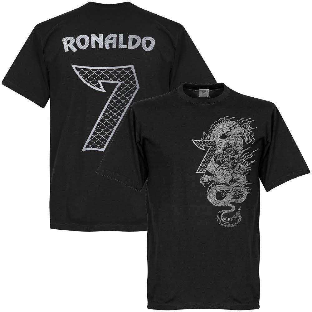 憧れ Ronaldo 7 Dragon Tee – ブラック 6L Tee/シルバー 6L Ronaldo B01MRT3TRI, ペットフードペット用品のcocoro:e52b589c --- a0267596.xsph.ru
