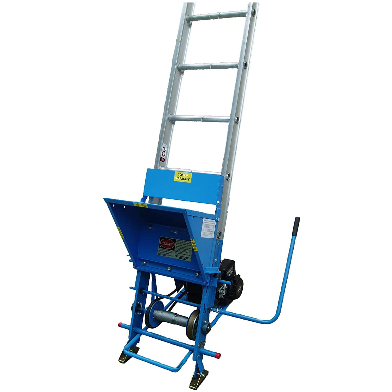 Briggs /& Stratton Engine Safety Hoist CH200 200lb Steel Based Ladder Hoist