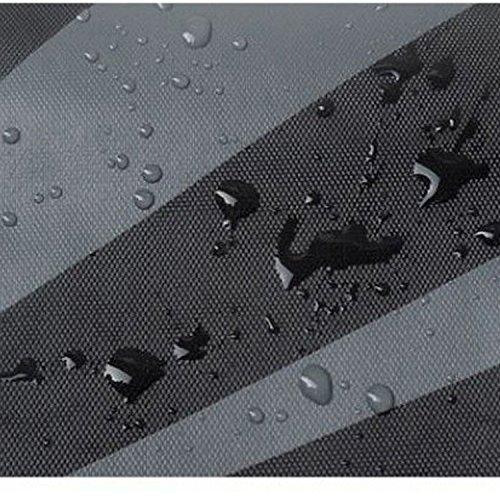Generic Gray: leggero pieghevole da viaggio impermeabile nuoto spalla zaino Zaino sacca con cordino per cellulare gadget accessori