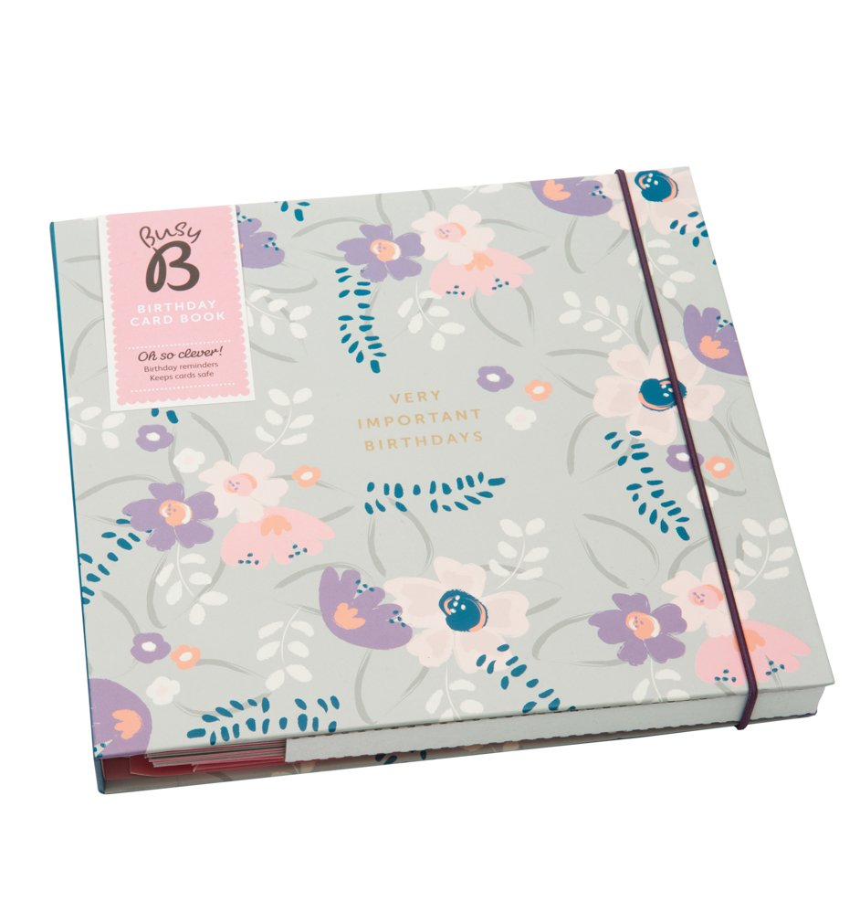 Busy b birthday card book floral new 2016 design amazon busy b birthday card book floral new 2016 design amazon office products bookmarktalkfo Images