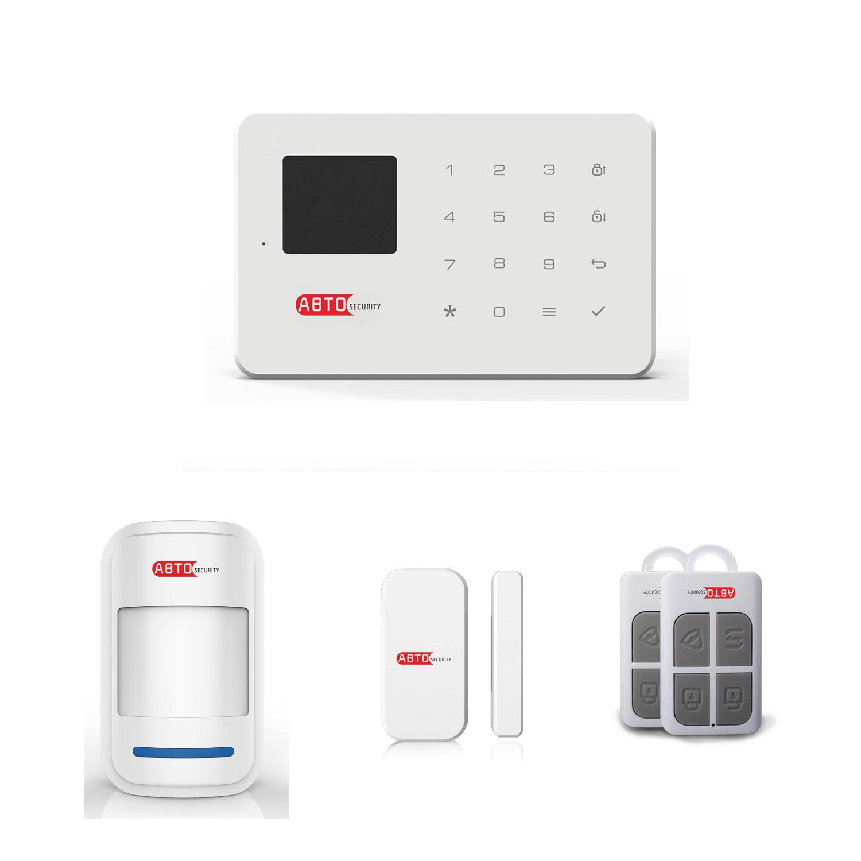 SZABTO Sistema de alarma inalámbrico G18 GSM para la seguridad del hogar (AA)