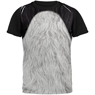 Halloween Leopard Print Costume All Over Mens T Shirt