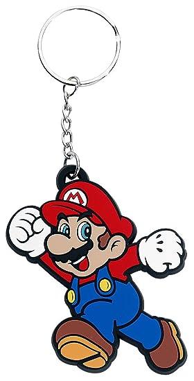 Super Mario goma llavero
