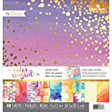 """house color ideas PAPER HOUSE Paper Pad Color Washed 12"""" x 12"""""""