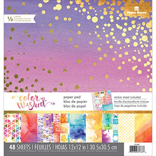 - PAPER HOUSE Paper Pad Color Washed, 12