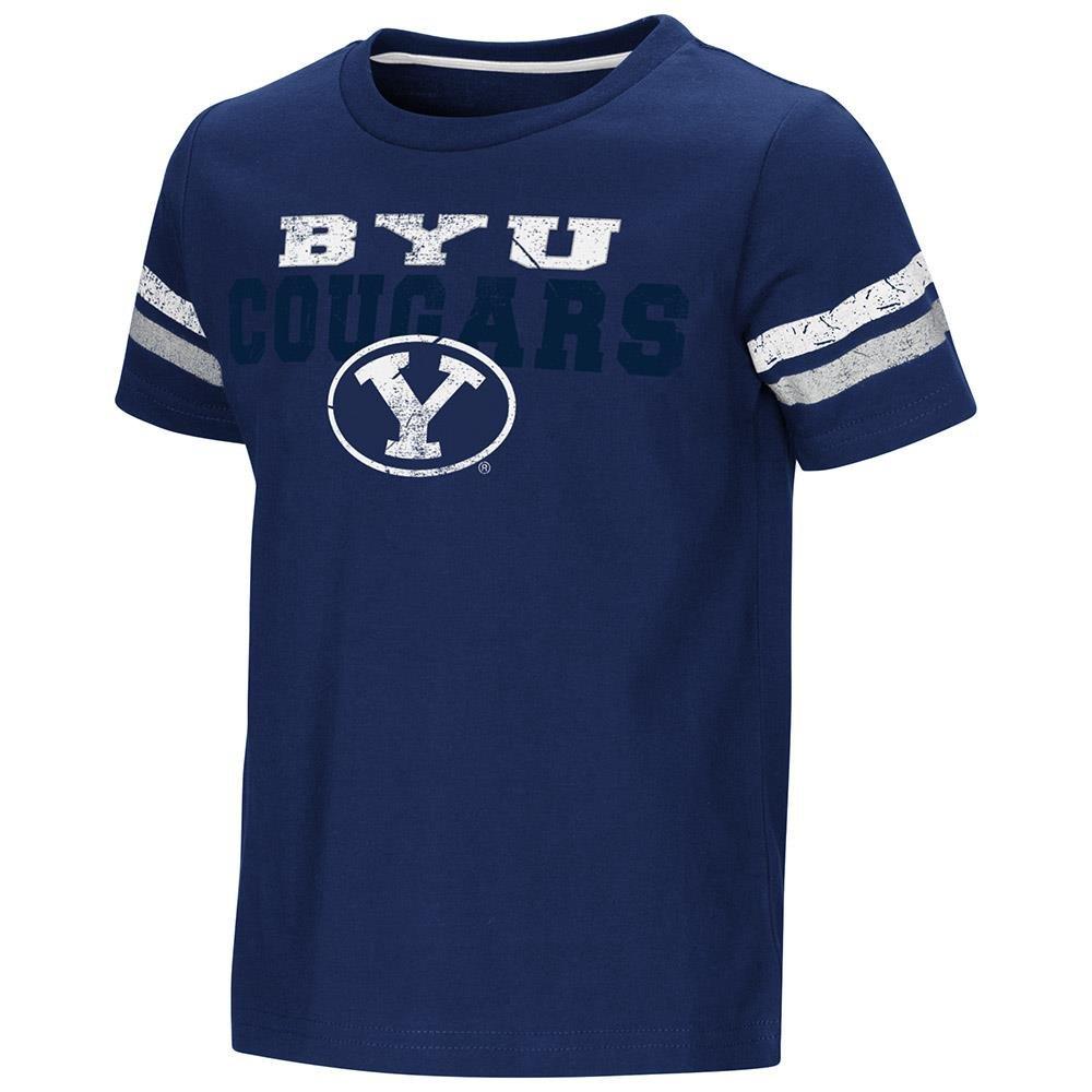 幼児用BYU Cougars半袖Teeシャツ B07C75323M  2T