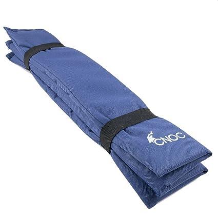 CNOC - Plegable cojín de asiento, Iso cojín térmico, almohadilla de aislamiento cojín de viajes - ideal para camping, excursiones, al aire libre, ...