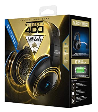 Amazon Com Turtle Beach Ear Force Stealth 500p Premium Fully Wireless Gaming Headset Dts Headphone X 7 1 Surround Sound Ps4 Video Games