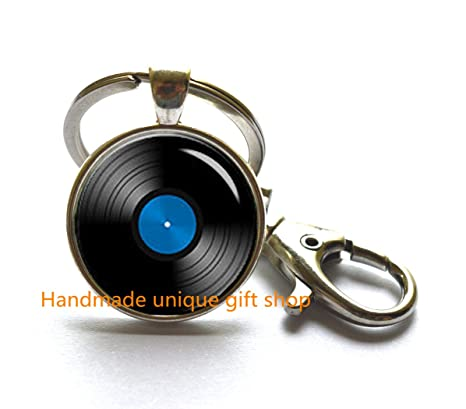 Diseño de llavero, llavero de Simple, vinilo Record keychain ...