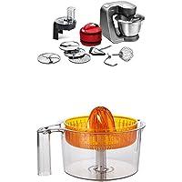 Bosch MUM59N26DE Küchenmaschine HomeProfessional, Rührschüssel, 3D Rührsystem, 7 Schaltstufen, 1000 W