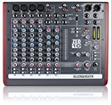 Allen and Heath ZED-10 4 Mono Mic/Line PA Mixer PA or Recording Mixer with Computer IO