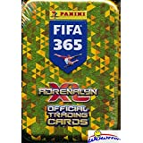 2018 Panini Adrenalyn XL FIFA 365 EXCLUSIVE Factory Sealed Collectors TIN with 30 Cards including TWO(2) LIMITED EDITION Cards! Look for Top Stars including Neymar, Messi, Ronaldo & More! WOWZZER!