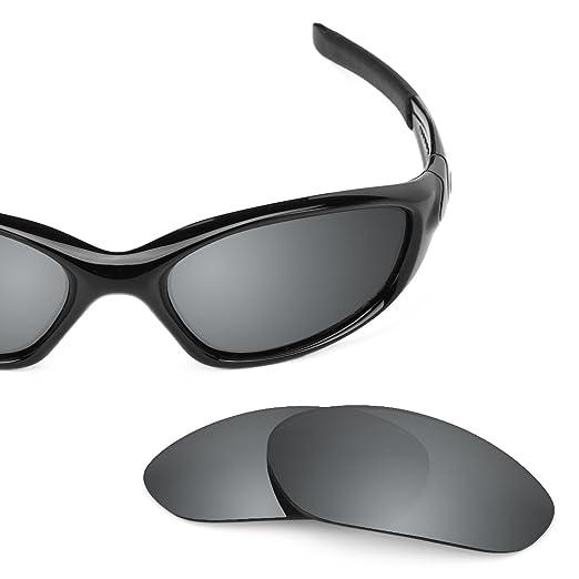 8ea5cc85b67 Revant Polarized Replacement Lenses for Oakley Minute 2.0 Elite Black  Chrome MirrorShield