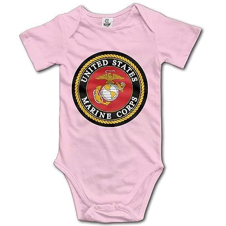 Mono de bebé para recién nacido, personalizado, USMC (cuerpo marino ...