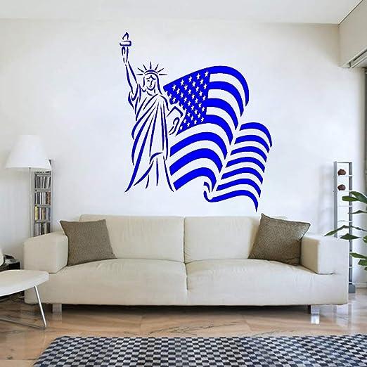 yaoxingfu Bandera de EE. UU. Tatuajes de Pared, Pegatinas de ...