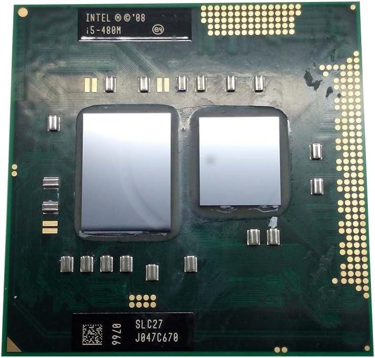 Amazon Com Intel Core I5 480m Slc27 2 66ghz 3mb Dual Core Mobile Cpu Processor Socket G1 988 Pin Computers Accessories