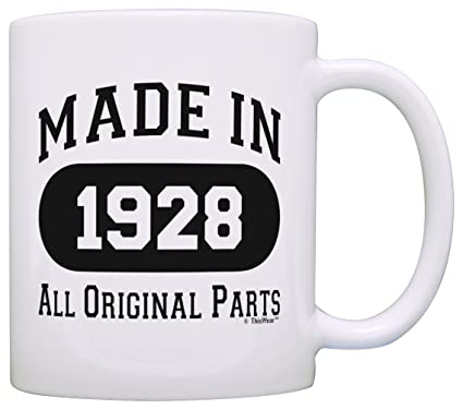 90th Birthday Gifts For Men Made 1928 All Original Parts Funny Party Supplies Gift