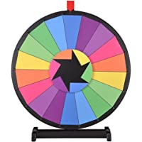 "WinSpin ™ 24""Mesa editable Color Premio Rueda 18Ranura"