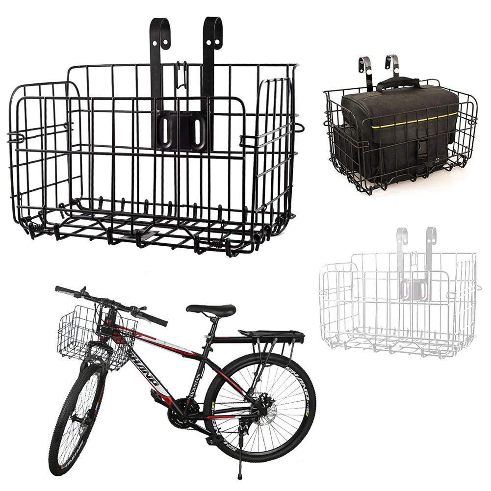 Amazon.com : SOXDirect Folding Bike Basket - Bicycle Bag ...