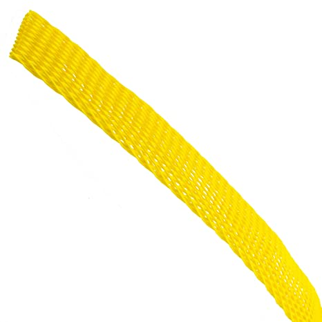 1,200 ft SW-100-66 Caplugs 420501AB Black Heavy-Duty Sleeve-Web Protective Netting Designed to Fit OD 1 in
