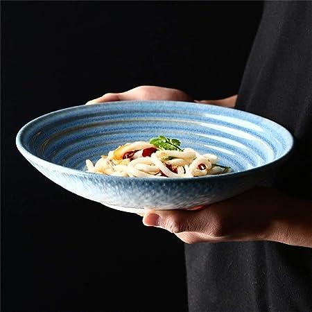 Tazón de Sopa Cerámica Gran Sopa Corrugada 3D Pasta Ramen ...