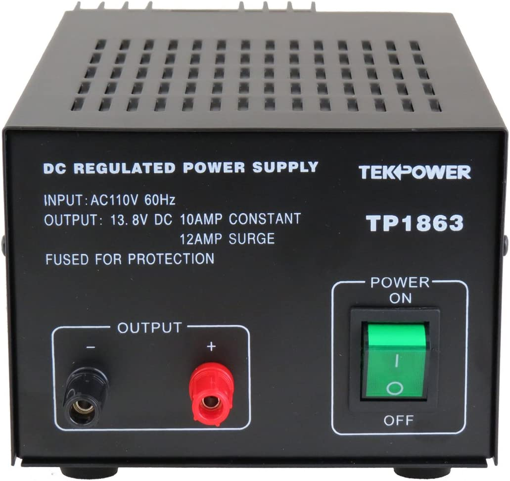 10 AMP 13.8V POWER SUPPLY