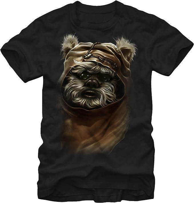 EWOK EXTERMINATOR Funny Mens Black T-Shirt
