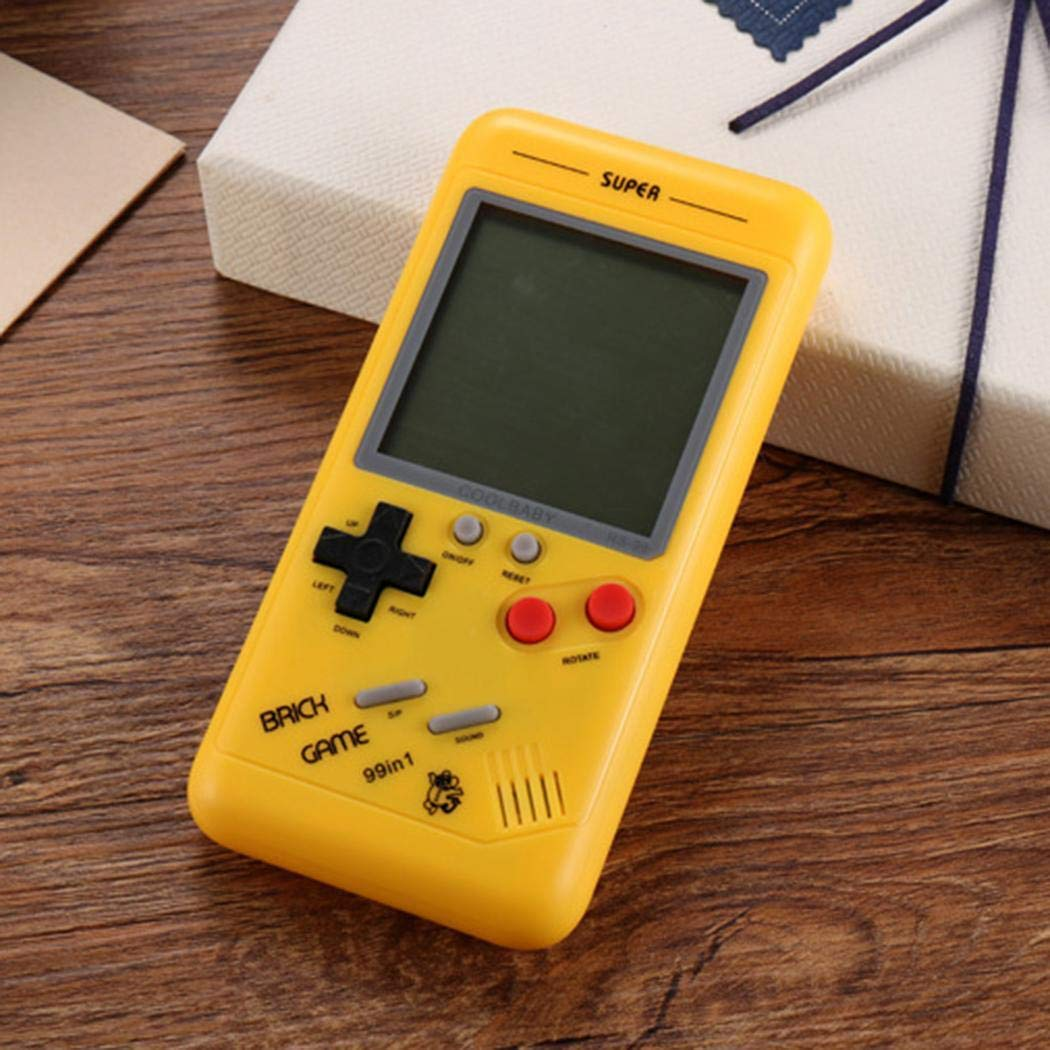 Youandmes Children Tetris Game Console, Portable Kids Game Handheld Toys by Youandmes (Image #3)