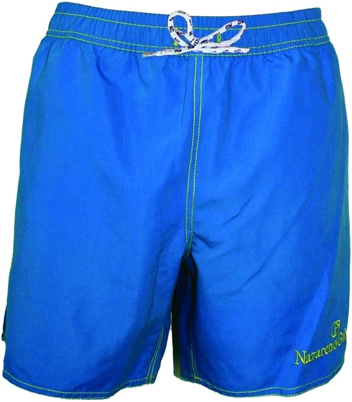 Nazareno Gabrielli Costume Uomo Mare Pantaloncino Bermuda Taschino e Retina Interna per Nuoto Spiaggia Mare Piscina Sport Slip Pantaloncini Calzoncini Mutande
