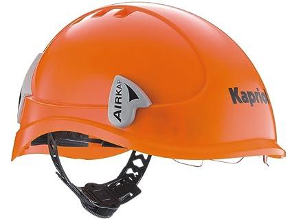 Abratools - Casco seguridad airkap naranja: Amazon.es ...