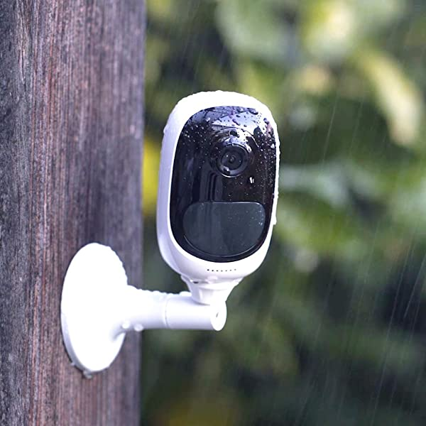 REOLINK Argus 2 Rechargeable Battery/Solar-Powered Outdoor Wireless Security Camera