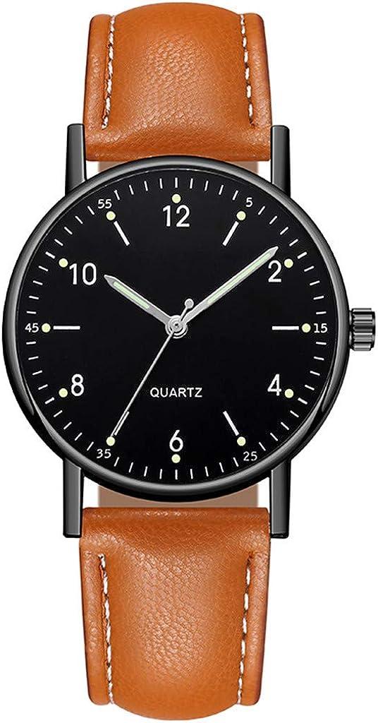 Relojes de pulsera para mujer de gama alta de cuarzo reloj luminoso dial reloj de moda regalos de Navidad regalos de San Valentín regalos