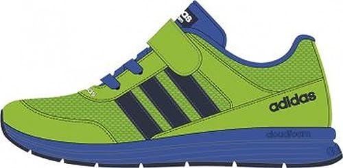 3245ef89d5 adidas Cloudfoam VS City INF - Zapatos Primeros Pasos de Tela para niño,  Color Verde, Talla 20 EU: Amazon.es: Zapatos y complementos